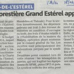 Estérel - Article de presse (1)