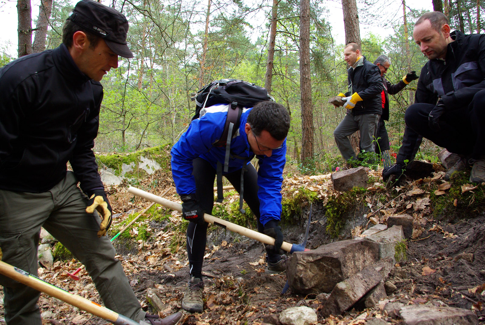 Eco chantier ONF Fontainebleau 2016 (16)