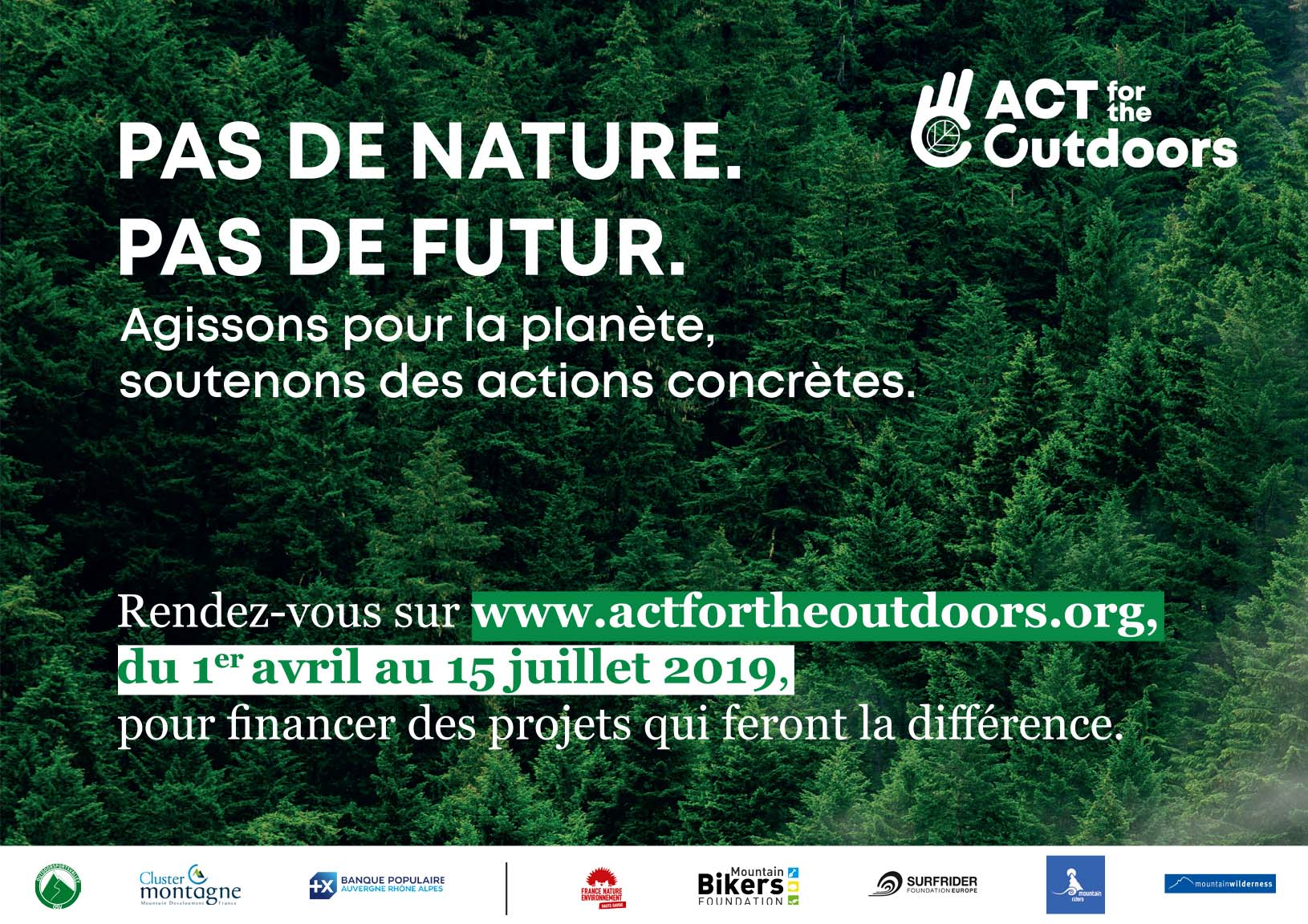 Visuel_ACT for the Outdoors_2019_BD